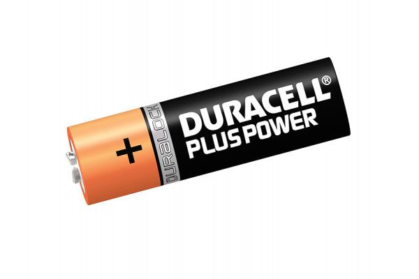 Duracell AA Cell Plus Power Batteries Pack of 12 LR6/HP7