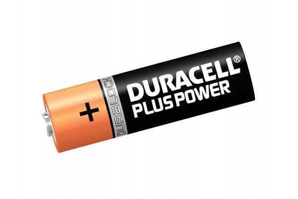 Duracell AA Cell Plus Power Batteries Pack of 4 LR6/HP7