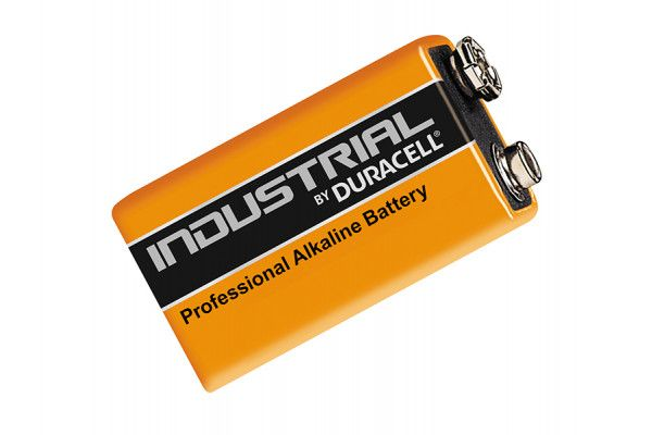 Duracell 9 Volt Professional Industrial Batteries Pack of 10