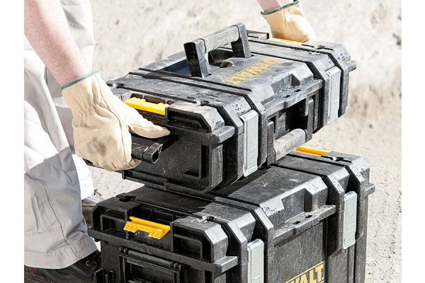 DEWALT TOUGHSYSTEM™ 4 In 1 Trolley & 3 DS Toolboxes