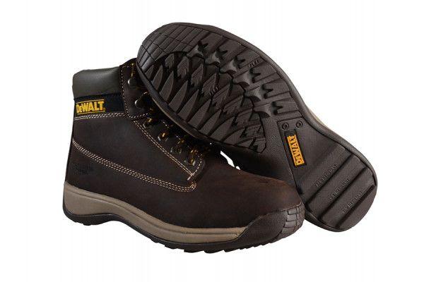DEWALT Apprentice Hiker Brown Nubuck Boots UK 6 Euro 39/40