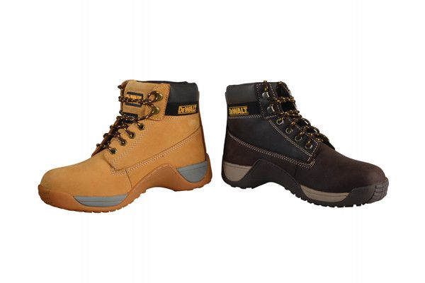 DEWALT Apprentice Hiker Brown Nubuck Boots UK 7 Euro 41