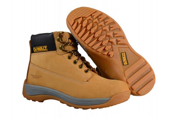 DEWALT Apprentice Hiker Wheat Nubuck Boots UK 6 Euro 39/40