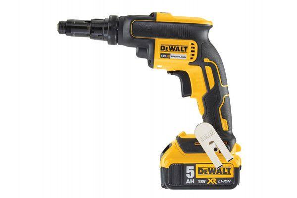 DEWALT DCF622P2 XR Brushless Self-Drilling Screwdriver 18V 2 x 5.0Ah Li-Ion