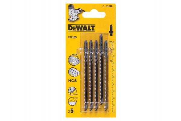 DEWALT HCS Wood Jigsaw Blades Pack of 5 T101B