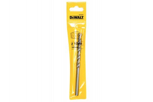 DEWALT Masonry Drill Bit 10.0mm OL:150mm WL:82mm