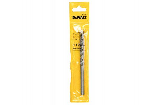 DEWALT Masonry Drill Bit 12.0mm OL:150mm WL:82mm