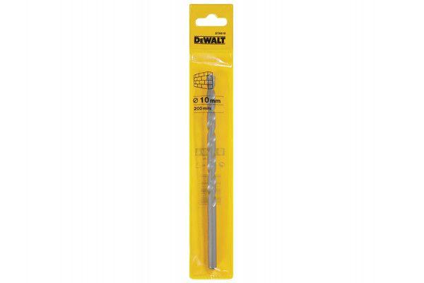 DEWALT Masonry Drill Bit 10.0mm OL:200mm WL:135mm