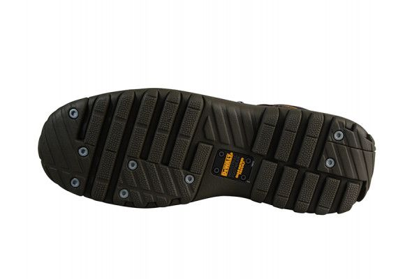 DEWALT Hammer Non Metallic Brown Nubuck Boots UK 10 Euro 44