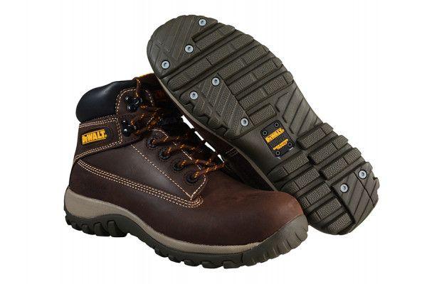 DEWALT Hammer Non Metallic Brown Nubuck Boots UK 6 Euro 39/40