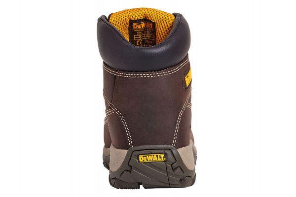 DEWALT Hammer Non Metallic Brown Nubuck Boots UK 8 Euro 42