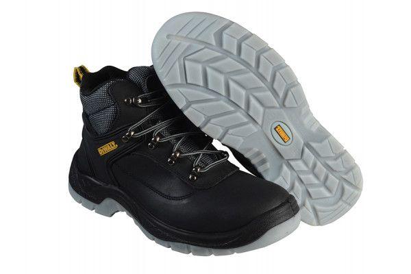 DEWALT Laser Safety Hiker Black Boots UK 7 Euro 41