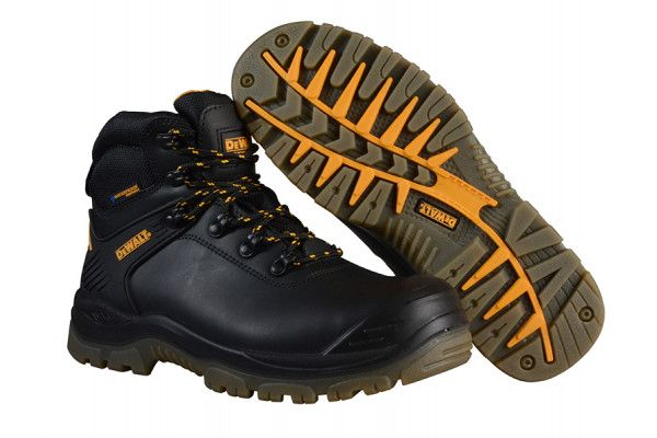 DEWALT Newark S3 Waterproof Safety Hiker Black Boots UK 9 Euro 43