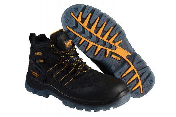 DEWALT Nickel S3 Safety Black Boots UK 11 Euro 46