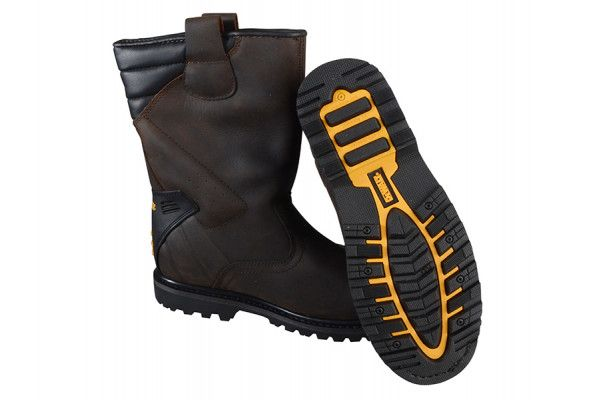 DEWALT Classic Rigger Brown Safety Boots UK 6 Euro 39/40