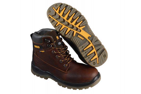 DEWALT Titanium S3 Safety Tan Boots UK 6 Euro 39/40