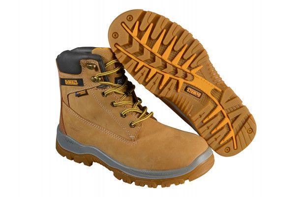 DEWALT Titanium S3 Safety Wheat Boots UK 8 Euro 42