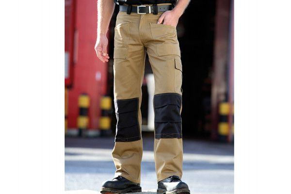 Dickies GDT290 Trouser Khaki & Black Waist 32in Leg 31in