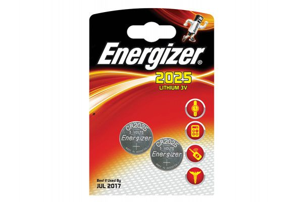 Energizer, CR2025 Coin Lithium Battery