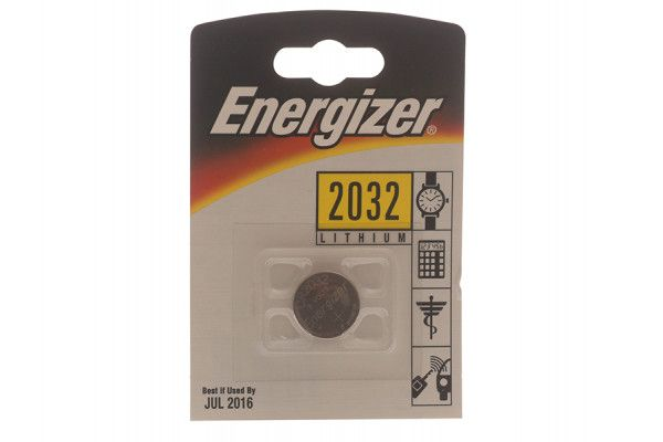 Energizer CR2032 Coin Lithium Battery Single