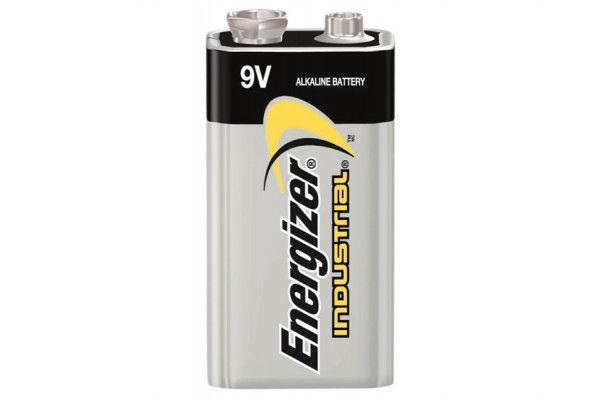 Energizer 9V Industrial Batteries, Pack of 12