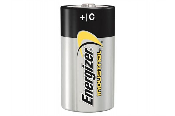 Energizer C Cell Industrial Batteries, Pack of 12
