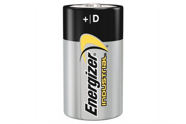Energizer D Cell Industrial Batteries, Pack of 12