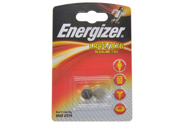 Energizer LR44 Coin Alkaline Batteries Pack of 2
