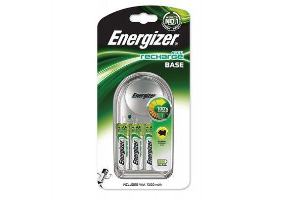 Energizer Charger 1300 + 4 AA 1300 mAh Batteries