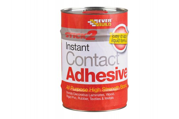 Everbuild Stick 2 All-Purpose Contact Adhesive 5 Litre