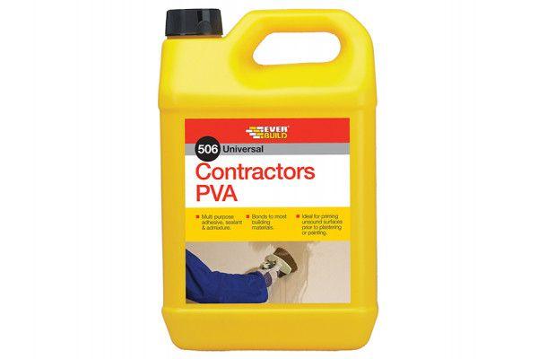 Everbuild Contractor's PVA 5 litre