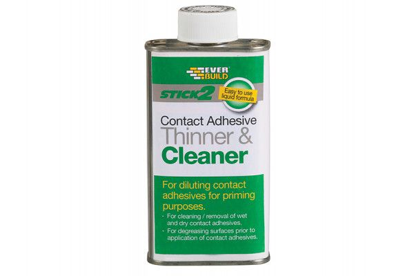 Everbuild, Stick 2 Adhesive Thinner & Cleaners