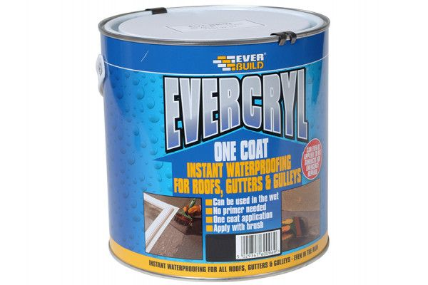Everbuild Evercryl One Coat Compound Black 2.5kg