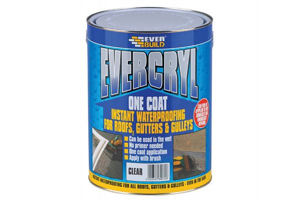 Everbuild Evercryl One Coat Compound Clear 5kg