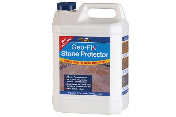 Everbuild Geo-Fix Natural Stone Protector 5 Litre