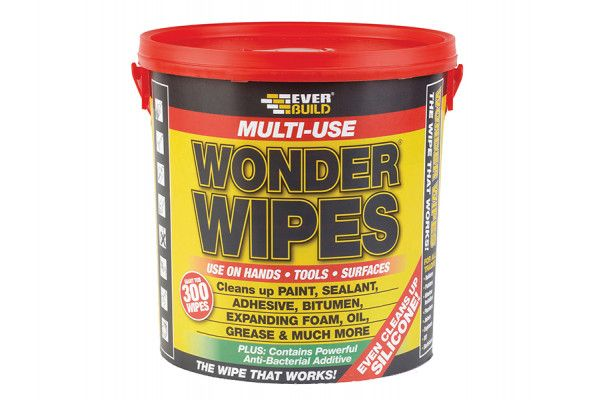 Everbuild Giant Wonder Wipes Tub of 300
