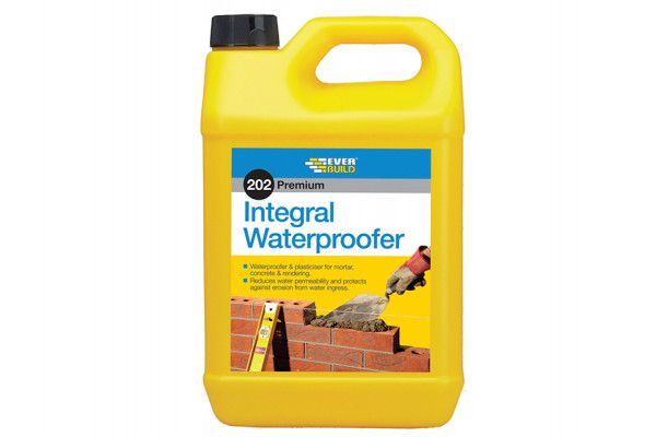 Everbuild 202 Integral Liquid Waterproofer 5 Litre