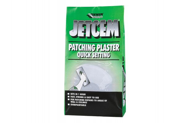 Everbuild Jetcem Quick Set Patching Plaster (Single 6kg Pack)