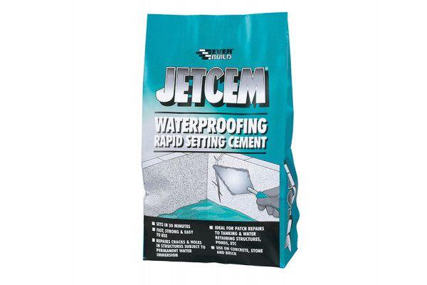 Everbuild Jetcem Waterproofing Rapid Set Cement (Single 3kg Pack)