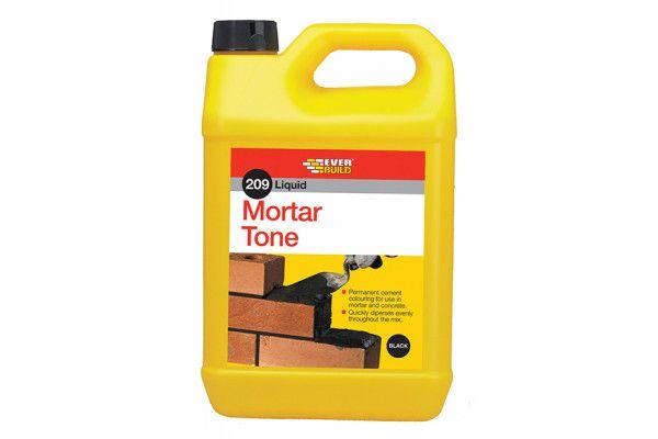 Everbuild Liquid 209 Mortar Tone Black 1 Litre