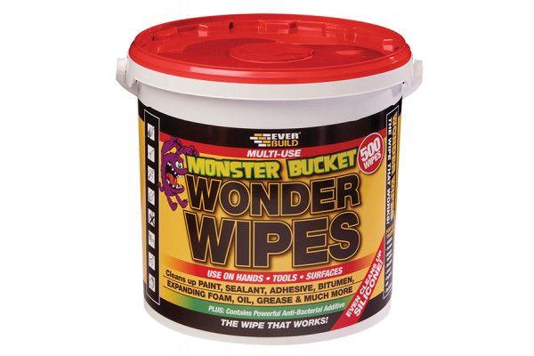 Everbuild Monster Wonder Wipes Tub of 500