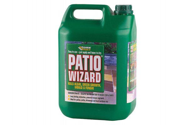 Everbuild Patio Wizard Concentrate 5 Litre