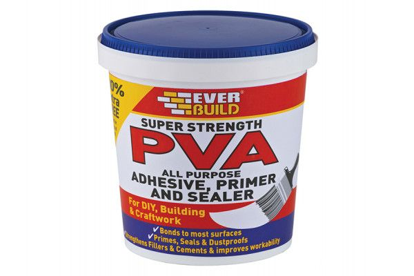 Everbuild Super Strength PVA Adhesive 600ml