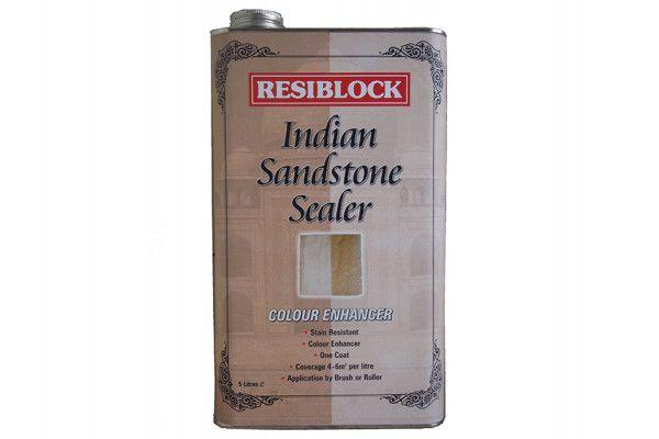 Everbuild Resiblock Indian Sandstone Sealer, Colour Enhancer 5 Litre
