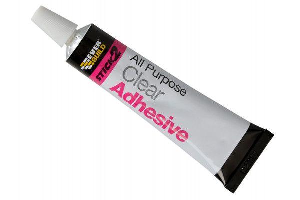 Everbuild Stick 2 All Purpose Adhesive Tube 30ml
