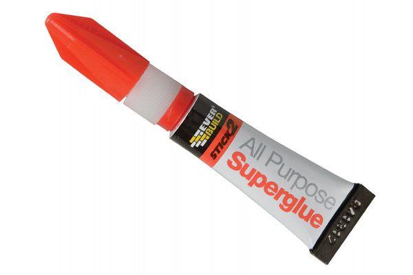 Everbuild Stick 2 All Purpose Superglue Tube 3g
