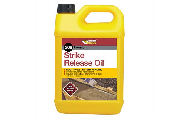 Everbuild 206 Strike Release Oil 5 Litre
