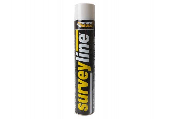 Everbuild Surveyline Marker Spray White 700ml
