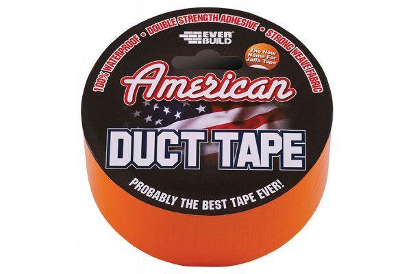 Everbuild American Duct Tape Orange 50mm x 25m