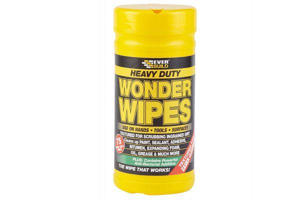 Everbuild Heavy-Duty Wonder Wipes Tub of 75